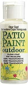 DecoArt Patio Paint, 2-Ounce, Clear Coat