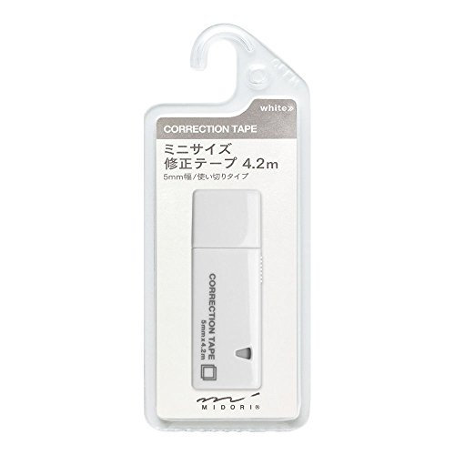 Midori CL Mini Correction Tape - White Photo #4