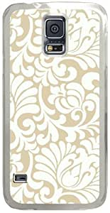 Silhouette-Ashford-House Samsung Galaxy S5 Case with Transparent Skin I9600 Hard Shell Cover