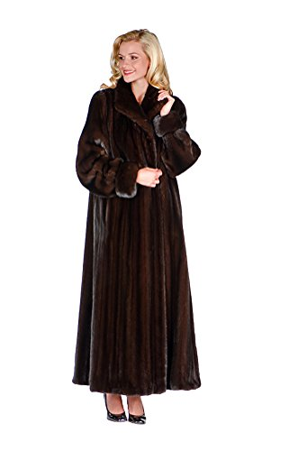 Full Length Womens Mink Coat - 7