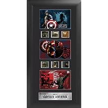 Captain America: The First Avenger (Series 1) Trio Film Cell Presentation