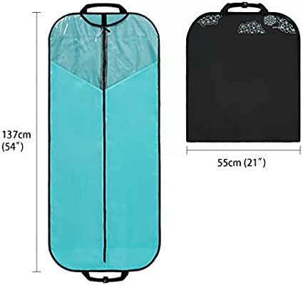 Amazon.com: BAGSMART - Bolsa de ropa de 53.9 in para vestido ...