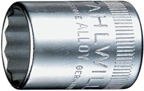 Stahlwille 01030014 40D Steckschl/üsseleins/ätze 1//4 Zoll SW 14 mm