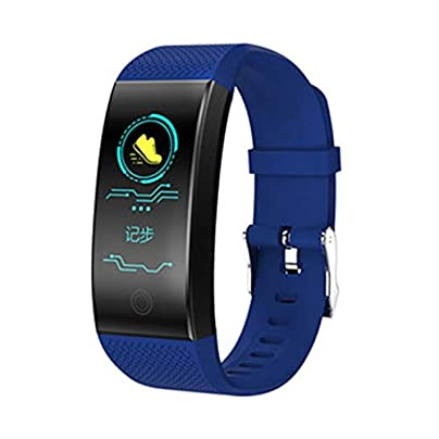 DMMDHR Color Screen Smart Bracelet Heart Rate Monitor IP68 Waterproof Fitness Tracker Band Bluetooth 4 0 Sports Wristbands Estimated Price £36.20 -