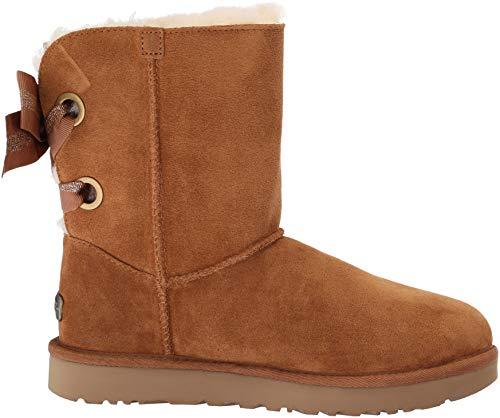 Fashion Chestnut Bow W Bailey Boot Customizable Short Women's UGG wvqYTT