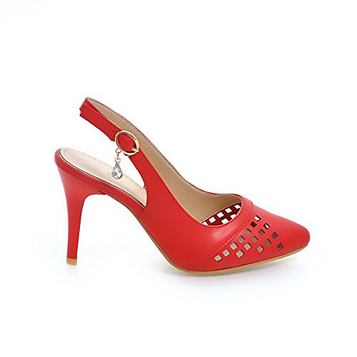 Sandales 36 Red Femme Rouge 5 Compensées MJS03491 1TO9 Cwa5q