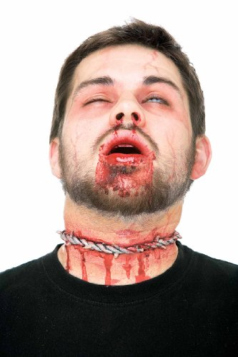 Barbed Wire Around Neck - Halloween Prosthetic (The Spirit Of Halloween Store Locations)