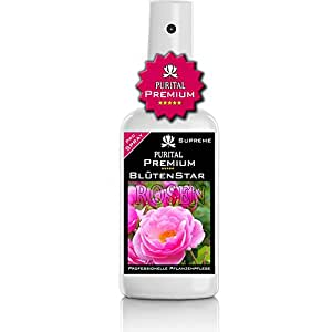 purital Premium rosas Spray–Rose Cuidado–saludable hojas y flores nutrido–Profesional Planta Cuidado y vitalizantes hojas de cuidado para rosas–Plantas