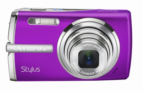 Cheap Olympus Stylus 1010 10.1MP Digital Camera with 7x Optical Dual Image Stabilized Zoom (Purple)
