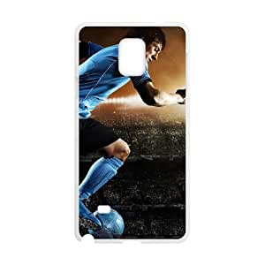 Sports lionel messi Samsung Galaxy Note 4 Cell Phone Case White Gift xxy_9933449