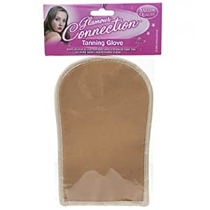 SOFT SELF TANNING GLOVE APPLICATOR MITT FAKE TAN LOTION SPRAY MOUSSE APPLICATION