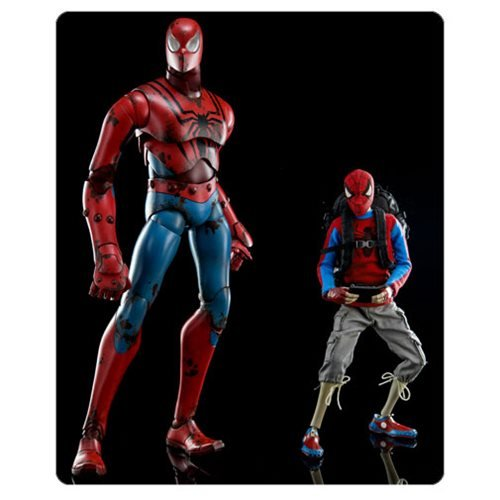 Spider-Man Peter Parker by Ashley Wood 1:6 Scale Action Figure 2-Pack