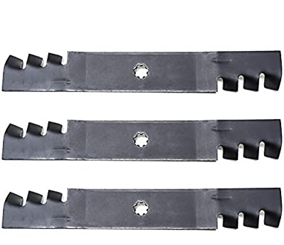 "Lawnmowers Parts & Accessories NEW (3) Mulching Mower Blades 48"" John Deere GX21784 GY20852 D140 D150 D160 LA130 SHIP FROM USA"