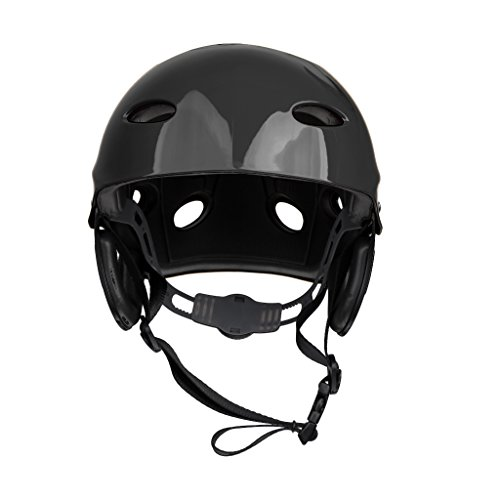 r Sports Safety Helmet for Unisex Men Women Kids - Black (Deluxe Womens Helmet)