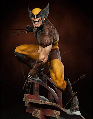1/6 Scale Statue Figure - Collectible toy Marvel X-Men Dowin Wolverine Figure 1/6 Scale LOGAN PVC Toy 10