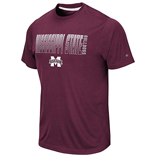 Colosseum Mens Mississippi State Bulldogs Hamilton Short Sleeve Tee Shirt - M