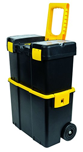 Stack-On PRTB-17-2YB Plastic Rolling Toolbox by Stack-On