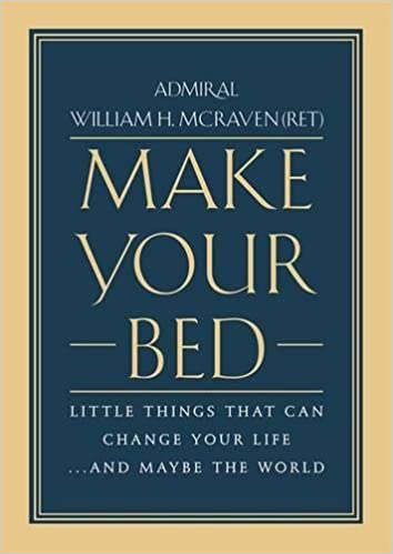 Make Your Bed: Little Things That Can Change Your Life...And Maybe the World best self-help book
