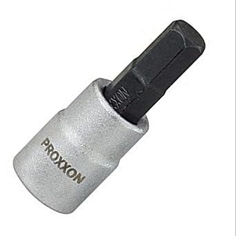 Proxxon 23 749 Vaso y Punta Hexagonales de 1/4