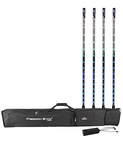 Bag Truss (CHAUVET DJ Freedom Stick Pack (4) Battery-Powered LED Effect/Stage Lights w/Carrying Bag & IRC-6 Remote | LED Lighting)