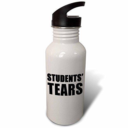 Evadane –  Quotes –  Students Tears nero –  in paglia bottiglia d' acqua Riongeeo