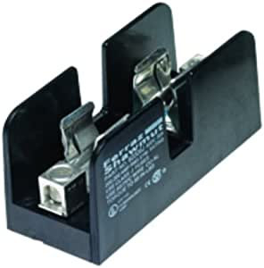 2//0-#6 Al//Cu Wire Size 1 Pole 100 Ampere Mersen 61006SJ Class J Spring Reinforced Fuse Block with Box Side Clip Connector