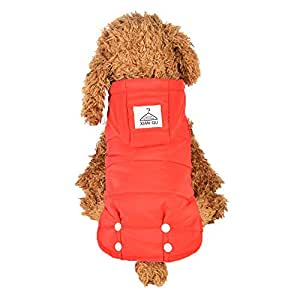 Rawdah_Mascota Ropa para Perros Peque?os Abrigos Camiseta Jerseyss Perro De Mascotas Ropa Cachorro Chaqueta De Dos Patas Ropa con Dise?o De Cintura Abrigo ...