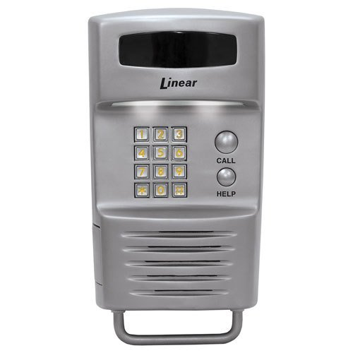 Linear Residential Phone Entry Controller with 2 Relays, Pole Mount (ACP00896/RE-1SS) (Phone Entry Controller)