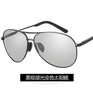 LLZTYJ Gafas De Sol/Hombres Cambio De Color Gafas De Sol Polarizadas Conducción Gafas De