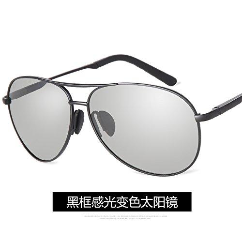 Aoligei Lunettes de soleil pilote conduite en métal homme lunettes de soleil polarisées dGWre3Zd6