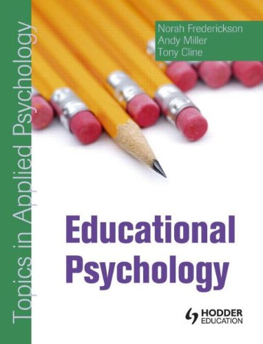 Educational Psychology: Topics in Applied Psychology