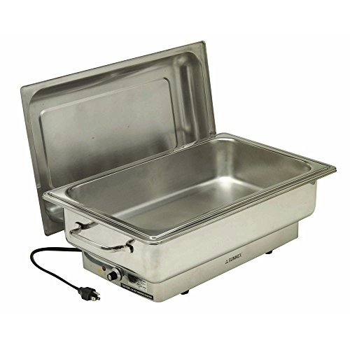 Warming Server (Electric Chafer Full Size 14 1/3 Qt Stainless Steel - 22