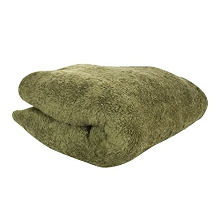 Olive Green Throw And Blanket 40 X 40cm Amazoncouk Kitchen Home Inspiration Olive Green Throw Blanket