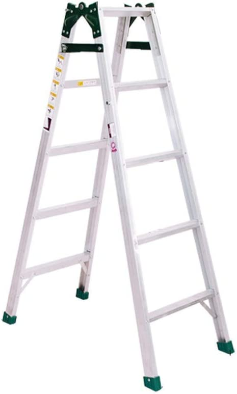 MJY Multipurposefive-Step Ladder, Engineering Double Side Ladder Orchard Picking Safety Ladder Outdoor Ladder Convenience Store Metal Ladder (Size : 45 14 133Cm),4514133Cm