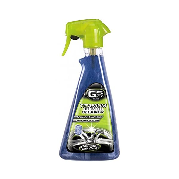 GS27-Titanium-Gel-Wheel-Cleaner-16-oz-Professional-deep-cleaning-car-rim-polish-and-protector-Manufactured-in-France