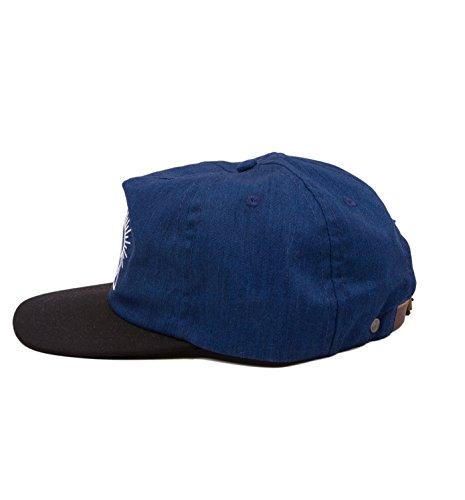 Talla and única Turquesa de Iron para Resin Gorra Azul béisbol Hombre TxR6PR