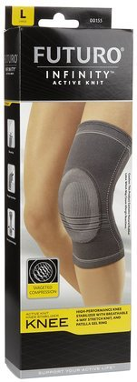 Futuro Infinity Active Knit Knee Stabilizer, Large