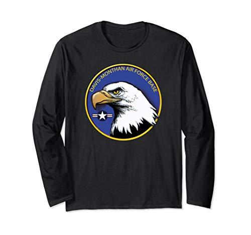 - DAVIS-MONTHAN AIR FORCE BASE EAGLE EMBLEM Long Sleeve T-Shirt