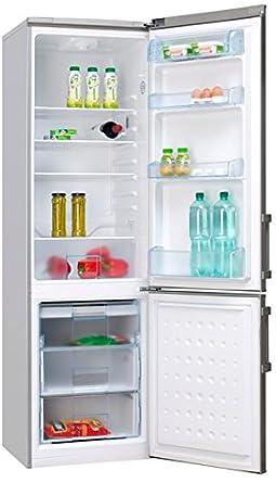 amica kühlschrank silber