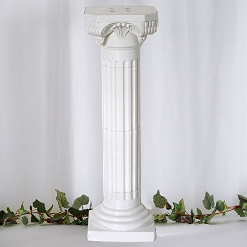 Tableclothsfactory 4 Pillars/Set Roman Decorative Wedding Party Columns PVC Pillars 36