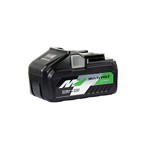 Metabo HPT MultiVolt Battery, 36V/18V, 4.0 Ah/8.0 Ah, Lithium Ion, Slide Style (372121M)