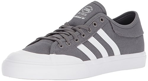adidas Mens Matchcourt Sneakers, White/White/White, (4.5 M US) Grey Four/White/Gum