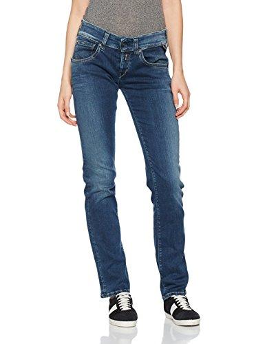 Replay Newswenfani, Jeans Mujer Azul (Blue Denim)