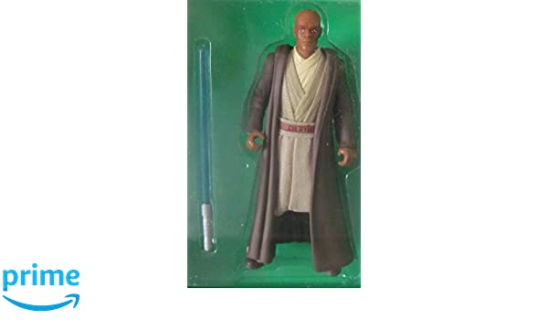 Star Wars EP1 TPM Mace Windu Sneak Peak figure LOOSE COMPLETE MINT