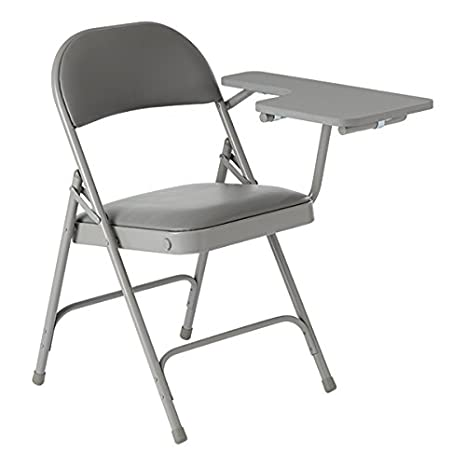 Black Pack of 4 Norwood Commercial Furniture NOR-SRO593-VBK-SO 6600 Series Folding Chair with Vinyl Upholstered Seat and Back