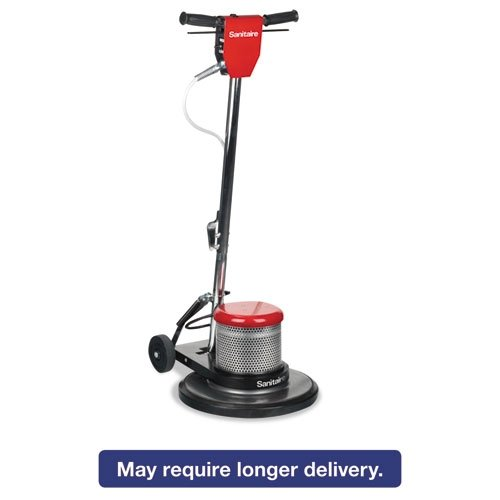 postalproducts SC6030D Sanitaire Floor Machine with 50' Power Cord, Dual Speed, 1.5 hp Commercial Motor, 17