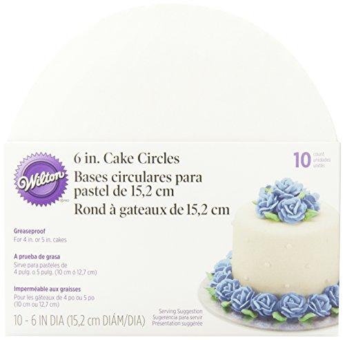 Wilton 6-Inch Cake Circle, 10-Pack