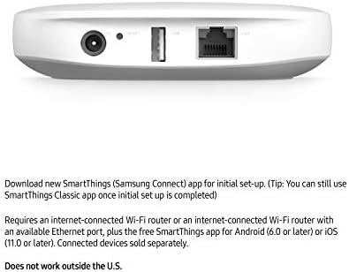 Samsung GP-U999SJVLGDA 3rd Generation SmartThings Hub, White 41nYKjf pQL
