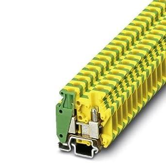 DIN Rail Terminal Blocks 6 2mm MINI GRD BLOCK (1 piece