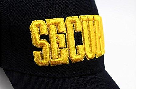 4b2f07053f535b Security Guard Officer Cap Tactical Baseball Cap Men Sun Hat Embroidery  Vintage Baseball Cap Women\